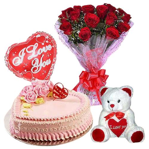 Valentines Day Combo Hamper