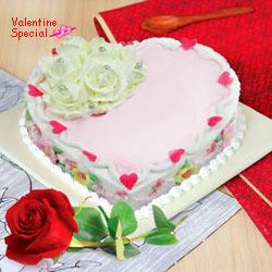 Love Cake N 1  Red  Rose