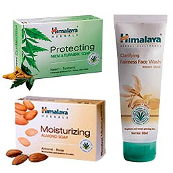 Deliver Himalaya Herbal 3-in-1 Bath Pack