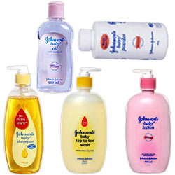 Online Johnson and Johnson Hamper