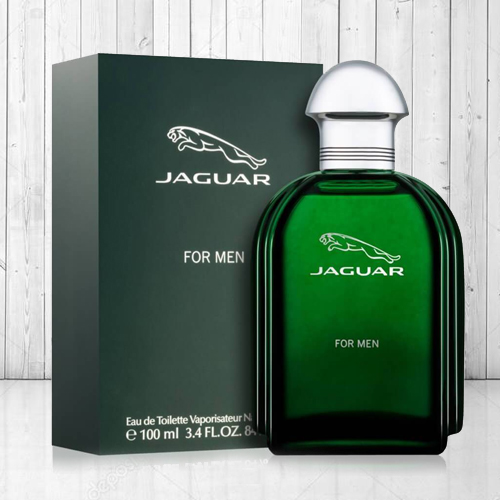 Captivating Jaguar Green 100 ml. Edt Perfume for Men