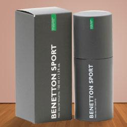 Appealing Benetton Sport for Men EDT 100 ml.