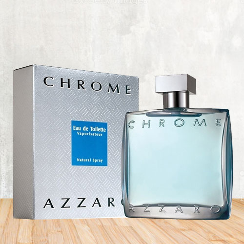 Appealing Azzaro Chrome Eau de Toilette Perfume For Men