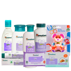 Lovely Collection of Baby Care Items from Johnson