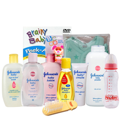 Order Johnson Baby Care Gift Hamper