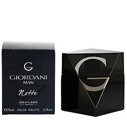 Attractive Fragrance Rich Oriflame Giordani Man Notte Eau De Toilette