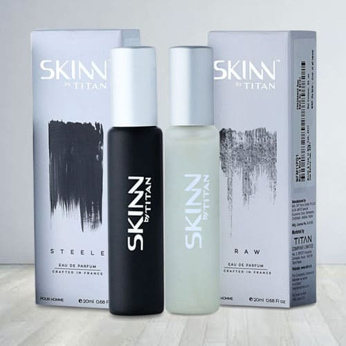 Sending Titan Skinn Raw Fragrances for Men