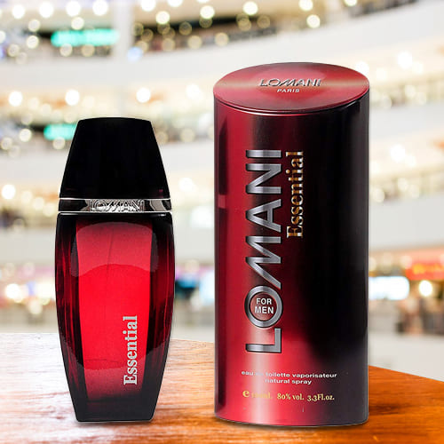 Online Lomani Essential Perfume For Men