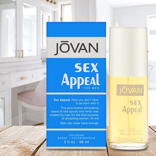 Send Jovan Sex Appeal for Men