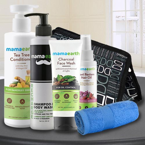 Beauty Special Mama Earths Care Hamper for Men