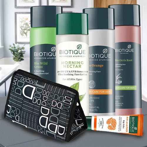 Best Looks with Biotique Face Care Hamper for Mens