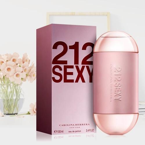 Lovely Ladies Gift of Carolina Herrera 212 Sexy Eau de Perfume