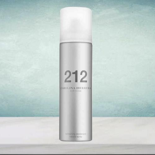 Aroma Magic Carolina Herrera 212 NYC Deodorant Spray for Ladies