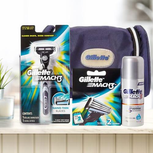 Remarkable Gillette Mach3 Travel Pack for Men