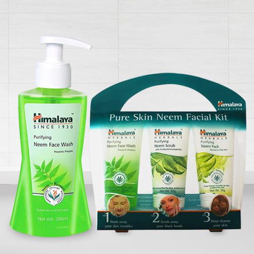 Appealing Himalaya Pure Skin Neem Facial Kit