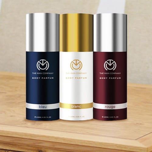 Delightful The Man Company Body Perfume Trio Deodorant Set for Men