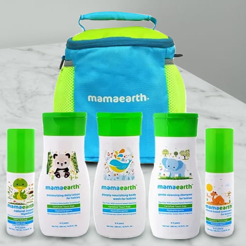 Essential Mamaearth Complete Baby Care Kit
