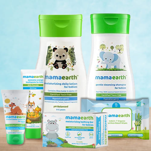 Gentle Touch Mamaearth Baby Skin Care Hamper