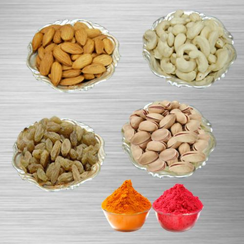 Dry Fruits to India by India Florist