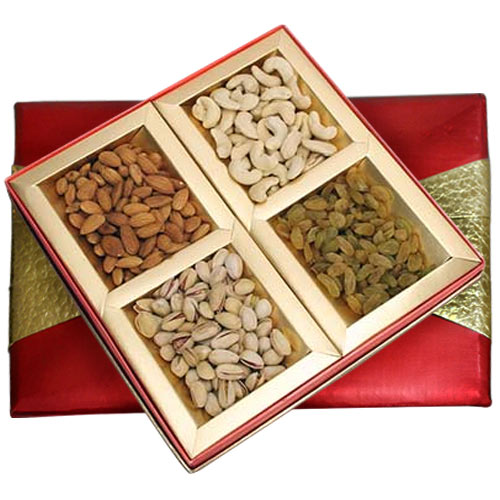 Exquisite Assorted Dry Fruits Gift Box