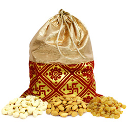 Ecstatic Dry Fruits Potli Full of Health Goodness