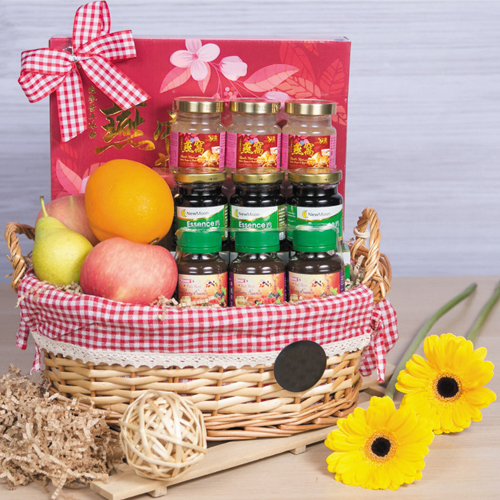 Health n Fitness Gift Basket for Mothers Day