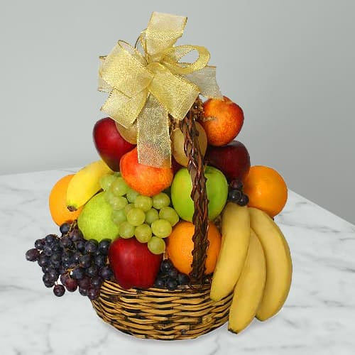Exclusive Basket of Fresh Fruits