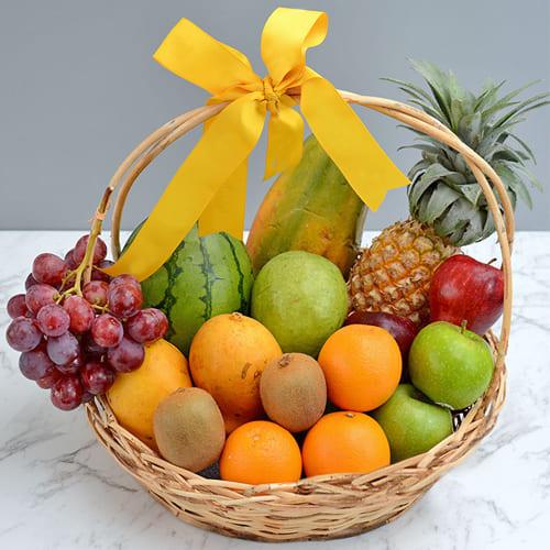 Ambrosial Fresh Fruits Gift Basket