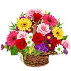 Basket of exquisite Flowers
