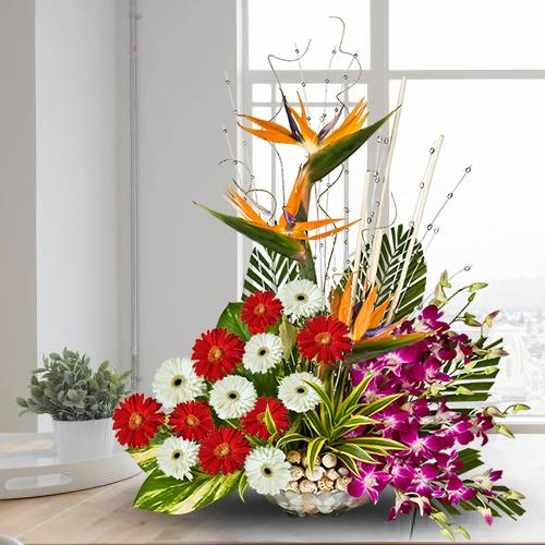 Online Mixed Flowers Arrangement