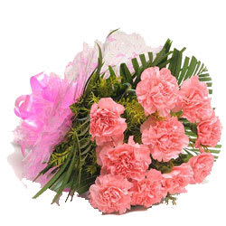 Classic Bouquet of Pink Carnations