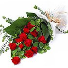 Tranquility Bouquet of Red Roses