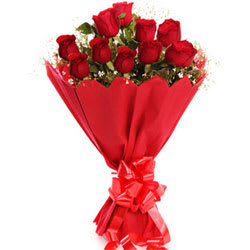 Precious Bouquet of Red Roses