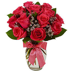 Memorable Moments Red Roses Bunch