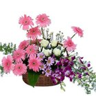 Bright and Beautiful Premium Mixed Flowers Arrangement
