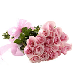 Magical Handmade Bouquet of Pink Roses
