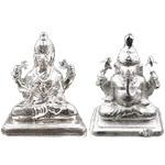 Pure Silver Lakhsmi Ganesh