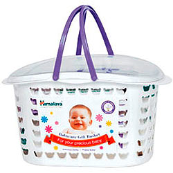 Gracing-the-Toddler Baby Care Gift Basket from Himalaya
