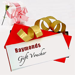 Send Raymonds Gift Vouchers Worth Rs.2000 to Kerala