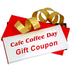 Gift Coupon for CAFE COFFEE DAY Worth Rs. 750