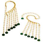 Dazzling Earrings with Dangling Teardrops by Avon