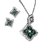 Dynamic Pendant and Earrings Set from Avon