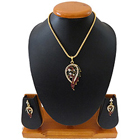 Enrich Collection of Stone Studded Pendant Set