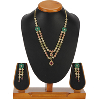Dressy Adornment Necklace with Earrings Set