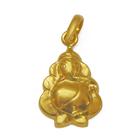 Anjali�s Admirable Embellishment Ganesha-Styled (22K) Pendant