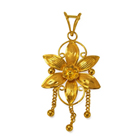Anjali�s Overwhelming Appeal (22K) Flowery Pendant