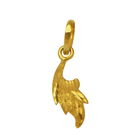 Artistic Attraction (22K) Leaf Shaped Pendant from Anjali