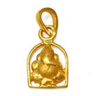 Glamorous Ganesha Shaped Pendant (22K) from Anjali