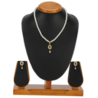 Oval Pendent Set