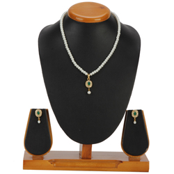 Spectacular Pearl Pendent  N  Earring Set for Ladies